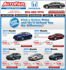lease a honda civic honda lease buy autofair honda in plymouth ma on boston com