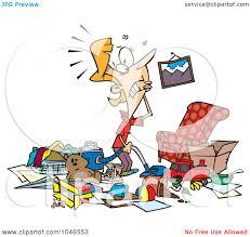 Livingroom Cartoon Cartoon Messy Living Room Carameloffers