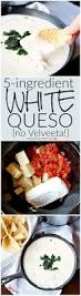5 ingredient white queso recipe fairy homemade and water
