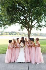 Pink Bridesmaid Dresses Vestido De Madrinha Rosa Para Casamentos Wedding Weddings And