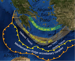 Greek Islands Map Earthquake 5 2r Rattles Rhodes And Neighboring Islands In Se Greece