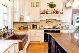 faux tin backsplash kitchen traditional with accent tiles country