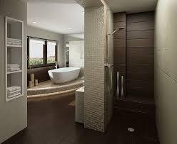 Contemporary Tile Bathroom - download brown tile bathroom gen4congress com