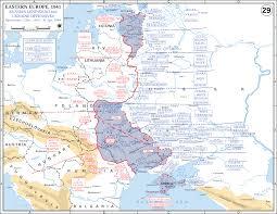 Moscow On Map Eastern Front Maps Of World War Ii U2013 Inflab U2013 Medium
