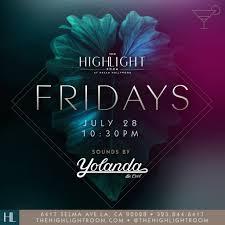 ra yolanda be cool at the highlight room los angeles