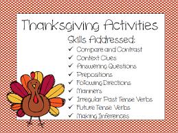 thanksgiving activities speech peeps