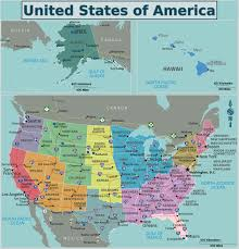 North Anerica Map Maps Of The Usa The United States Of America Map Library