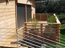 balkone holz balkongeländer holz selber bauen balkongestaltung