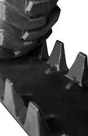 12x16 5 12 16 5 Skid Steer Loader Rubber Over The Tire Tracks Ott