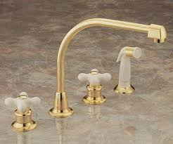 Polished Brass Kitchen Faucet Pictures Of Valley Double Handle Kitchen Faucets