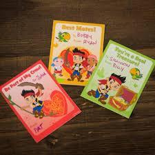 jake land pirates valentine cards disney family