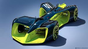 exclusive future car rendering 2016 daniel simon u0027s autonomous roborace car