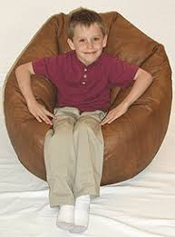 leather look bean bag chairs thebeanbagchairoutlet com