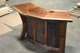 live edge computer desk uncategorized wood desk kit with exquisite hand crafted live edge