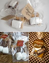smores wedding favors smores wedding favor ideas 001 weddings by lilly