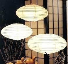 Paper Lantern Pendant Light Paper Lantern Light Fixture 3 Level Large Japanese Paper Lantern