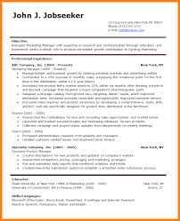 Resume Sample Product Manager by 8 Resume Sample Word File Forklift Resume