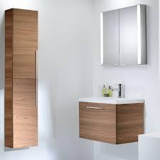Bathroom Storage Unit by Designer Walnut Bathroom Furniture
