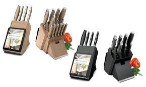 couteaux de cuisine global bloc de cuisine bloc de couteaux de cuisine professionnel ensemble