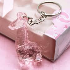 baby shower keychain favors safari giraffe keychain favors baby shower favors and supplies