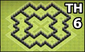Coc Map Layout Th6 | youtube kids clash of clans town hall 6 coc th6 base design