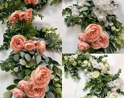 wedding backdrop garland garland backdrop etsy