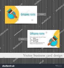 names for home design business vector business card design home repair stock vector 259793723