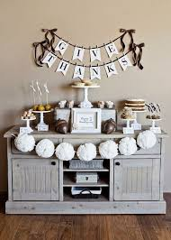 black and white thanksgiving decor ideas
