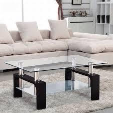furniture home glass coffee table glass tea table living room