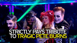 halloween dance background strictly come dancing pay tribute to tragic pete burns opening