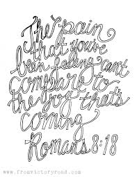 romans 8 18 coloring page u2013 from victory road