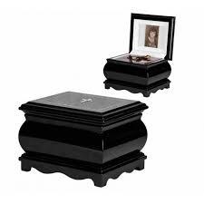 black casket black solid wood casket with catholic cross swarovski crystals