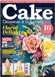 Cake Decorating Magazine Issues July 2016 Issue Of Cake Decoration U0026 Sugarcraft Magazine Is Out