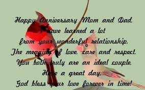 happy anniversary and parents wedding anniversary