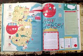 Map Of The 50 States The 50 States U2013 A Children U0027s Book Of Maps Crammed