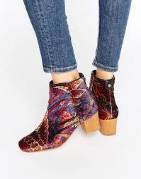 womens boots sale melbourne hudson garnett liberty velvet mid ankle boots au h by