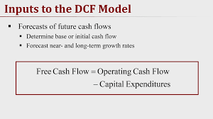 Discounted Flow Analysis Excel Template Discounted Flow Part 1 Of 2 Valuation