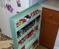 hidden spice rack 6 steps with pictures