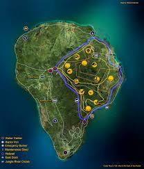 Jurassic World Map by Fan Made Isla Nublar Map By Fluxcreations On Deviantart