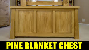How To Make A Toy Box Bench by Making A Tongue U0026 Groove Blanket Chest 213 Youtube