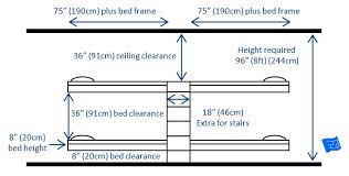 The Most Common Arrangement For Built In Bunk Beds For  Bunks - Size of bunk beds