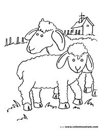 sheep color sheet create a printout or activity