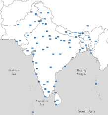 Map Quiz Of Asia by South Asia Challenge Hard Place 75 Cities On A Map Quiz By