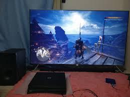 gaming setup ps4 my 4k gaming setup for ps4 pro steemit