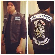 Sons Anarchy Costume Halloween Dressed Opie Night Sonsofanarchy