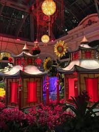luck lanterns new year at the bellagio hotel las vegas putnam travels