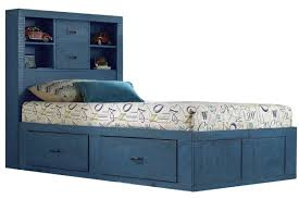 Captain Bed With Storage Bed U0026 Bedding South Shore Lexington Twin Captains Bed With