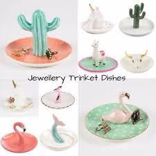 sass ceramic jewellery key ring holder dish home gift