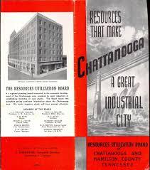 Chattanooga Tennessee Map Chattanooga Tennessee Brochure 1940 U0027s Facts Photos Map