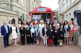 Clarence House London by North East Schoolchildren Join Camilla At Clarence House Books